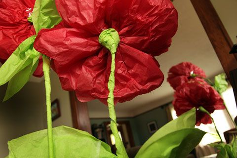 How To Make A Giant Magical Paper Flower Poppy Garden Vbs Paper