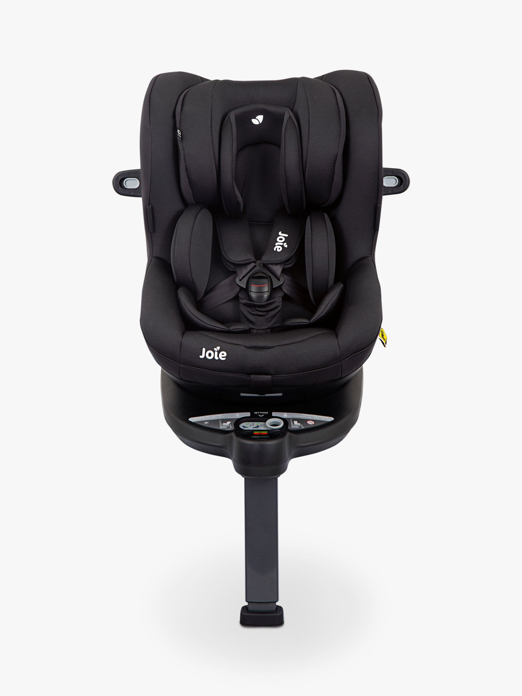 Joie Baby iSpin 360 Group 0+/1 iSize Car Seat, Coal in
