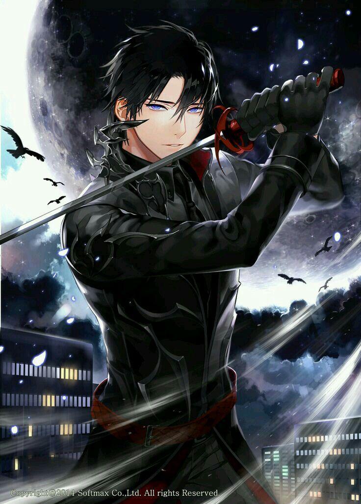 Azzazel human form anime guys handsome anime cute