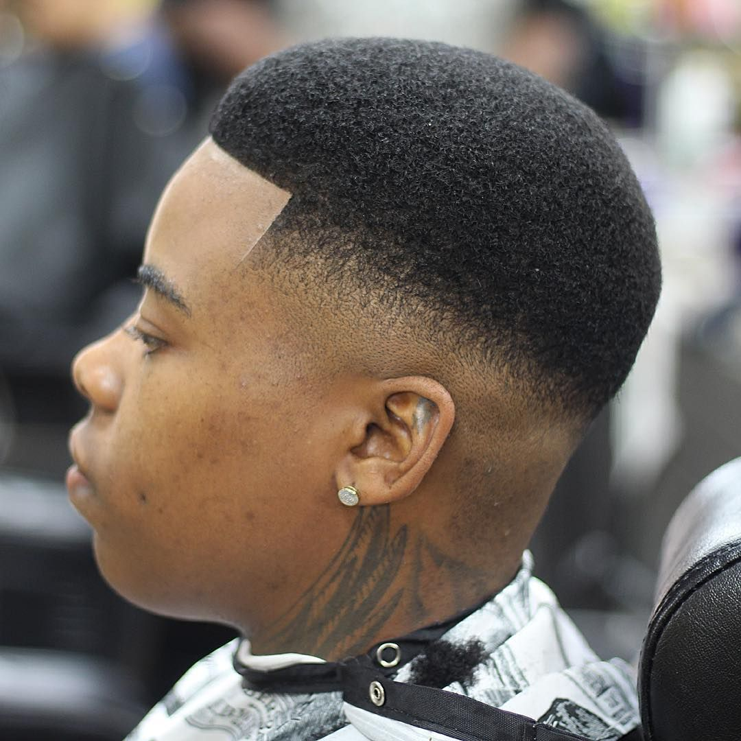 Black Men Wedding Hairstyles: Box Fade Haircuts For Black Boy