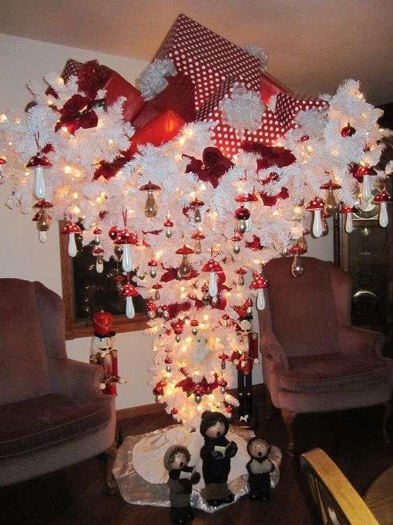 Alberi di Natale da soffitto