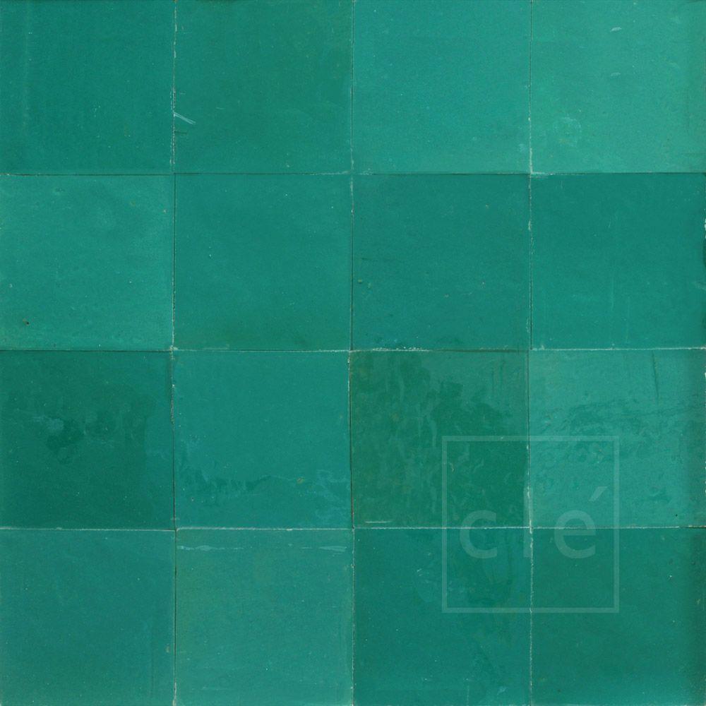 aqua moroccan zellige tiles | zellige tile | Pinterest | Zellige ...