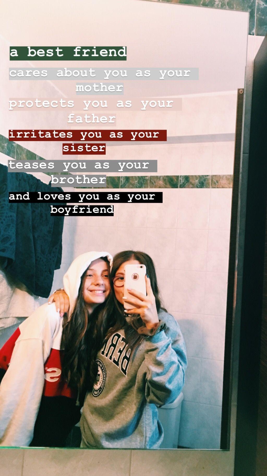 bestfriends   Instagram story ideas, Friends instagram, Instagram ...