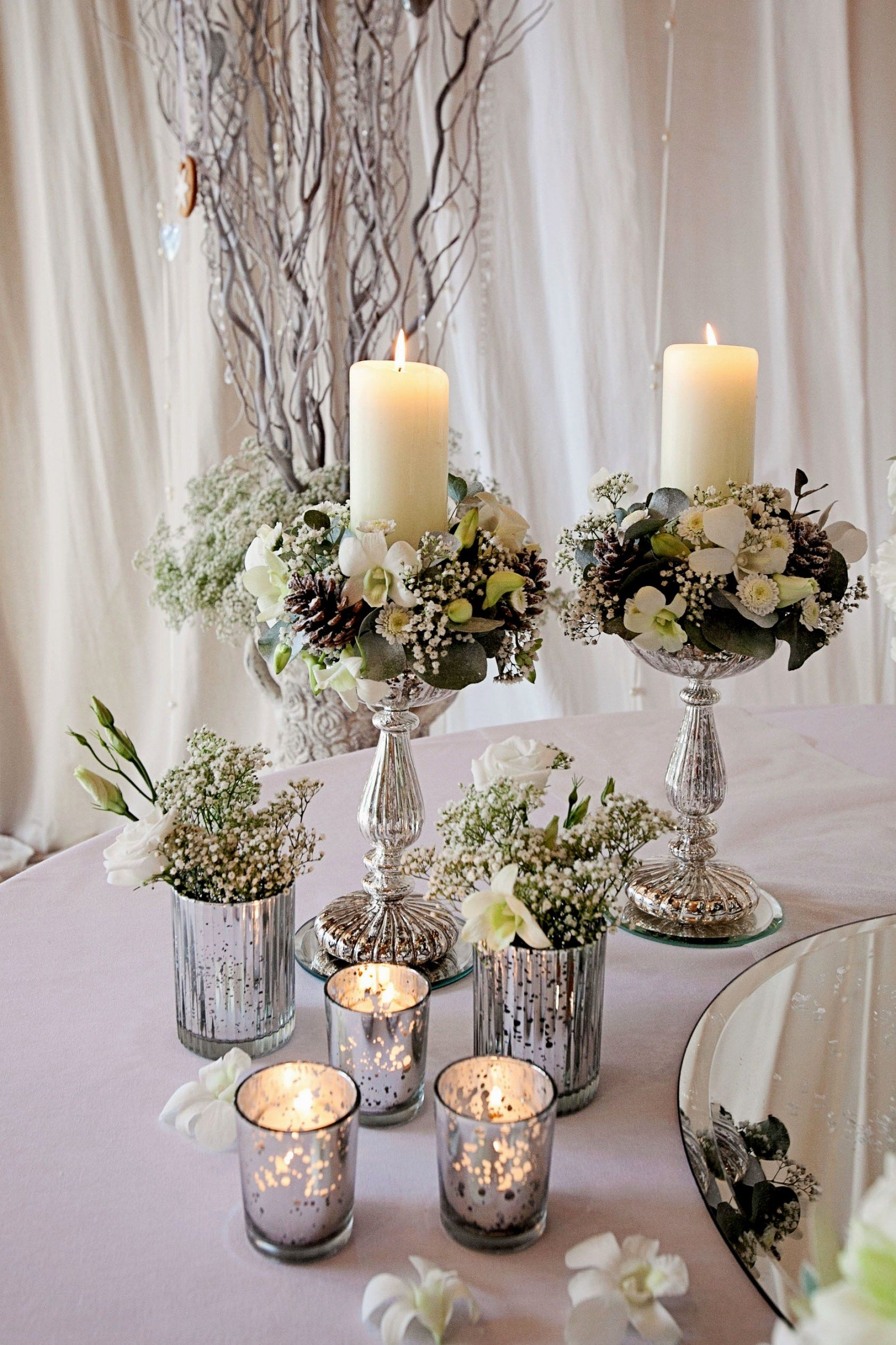 33 Beautiful Wedding Table Centerpiece Flower Centerpieces