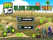 Ben 10 is driving his tanked motorbike with a machine gun on the back of motorbike that can shoot at any direction. The Zombie are attacking on the land. Best Free Games at Starfall Zone.