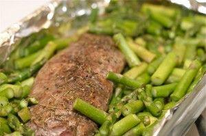 Photo of Rosemary Balsamic Pork Tenderloin – Dump and Go Dinner