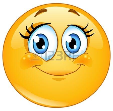 Cute eyelashes emoticon smileys smiley sourire bonhomme sourire et emoticone gratuit - Image sourire gratuit ...