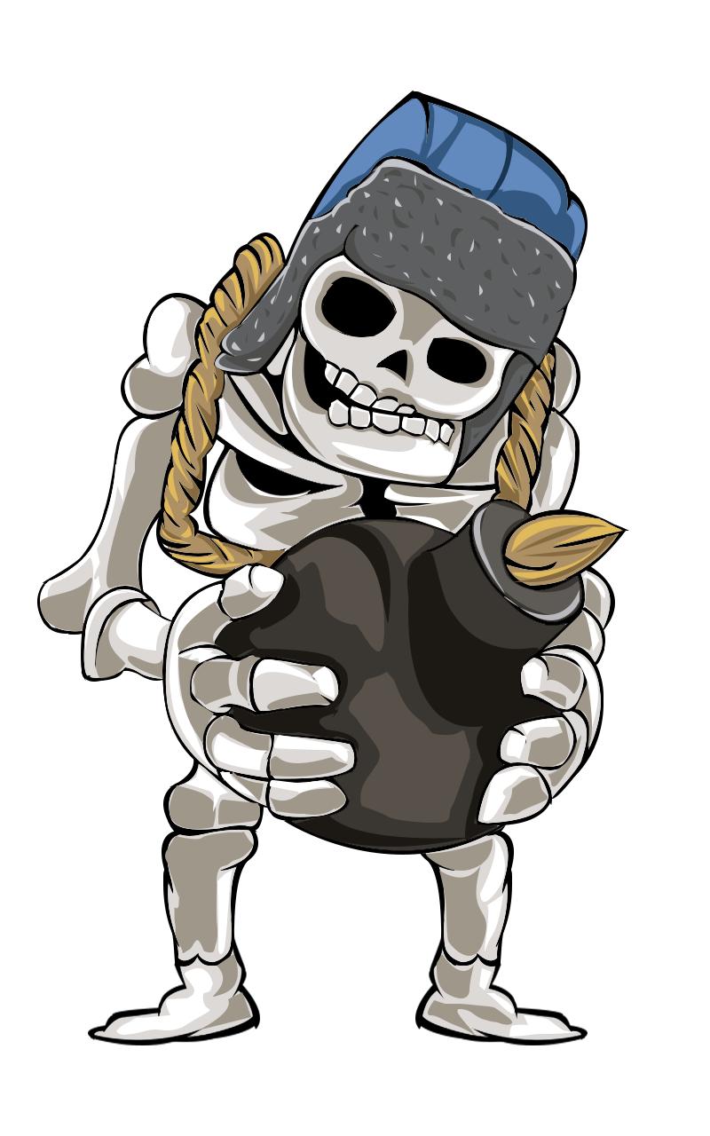 Esqueletos Gigantes Powerful Toons Caricaturas Poderosas Jogos