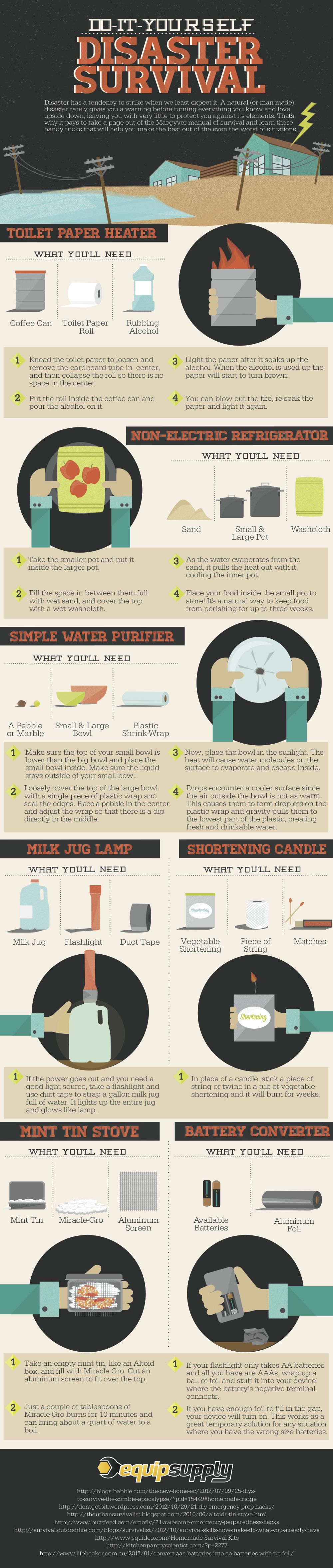 Do it yourself disaster survival infographic survival milk jugs do it yourself disaster survival infographic solutioingenieria Images
