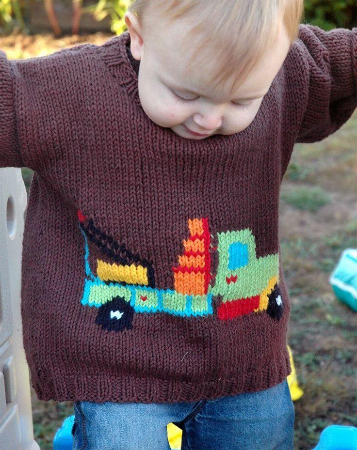New easy knitting patterns for children knit baby boy ...