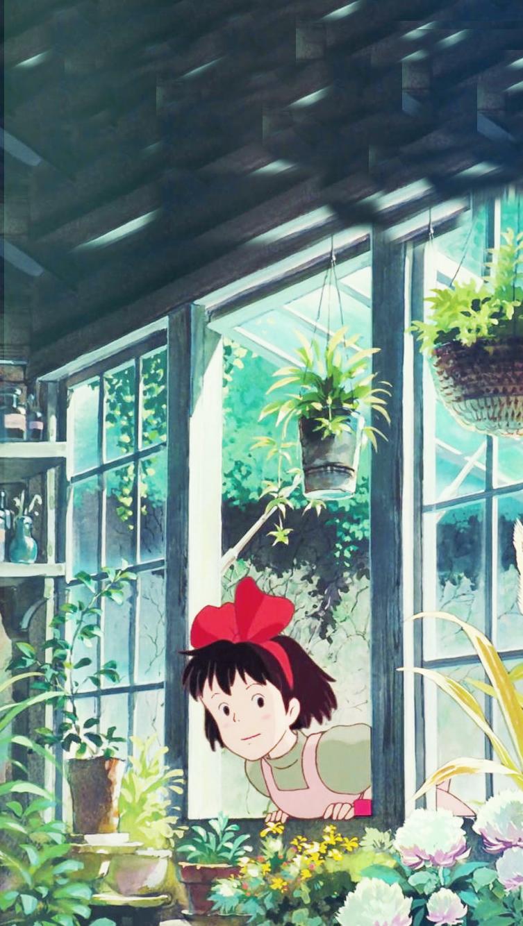 Kiki   Phone Wallpaper    Kiki's Delivery Service