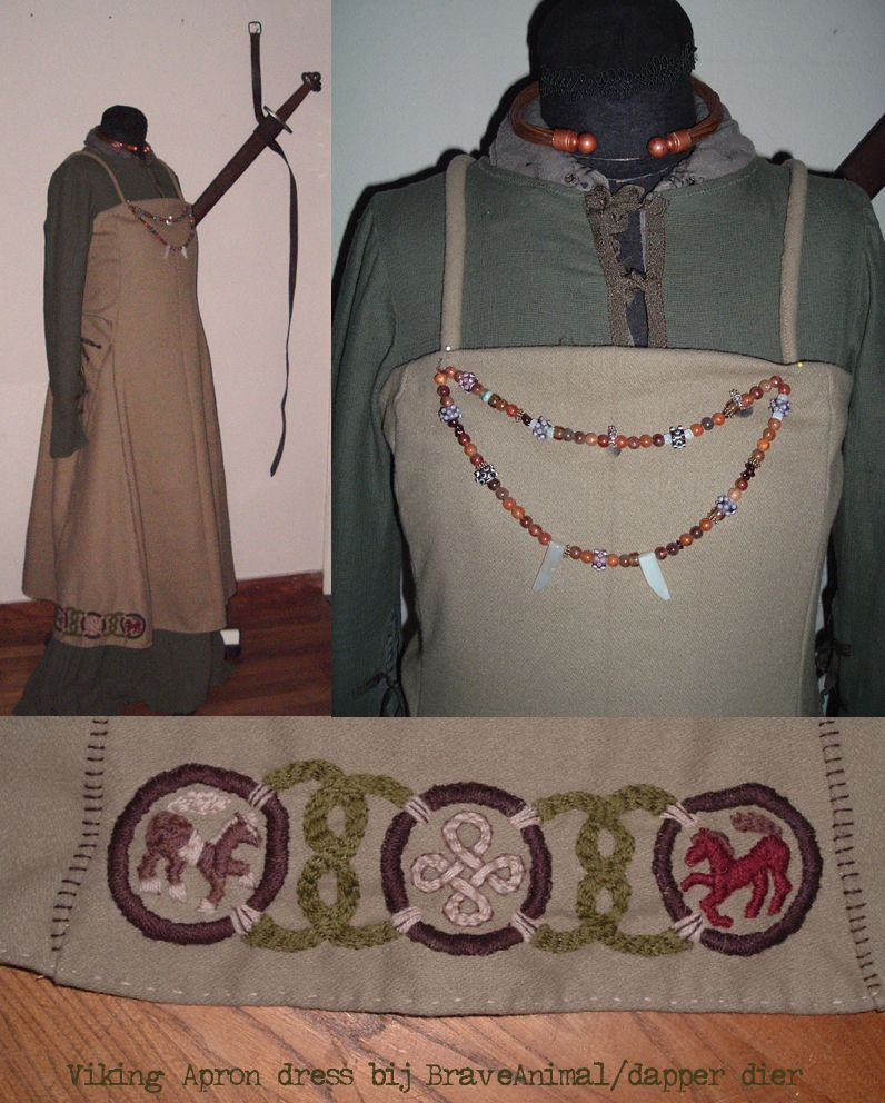 Viking Apron dress by ~BraveAnimal on deviantART
