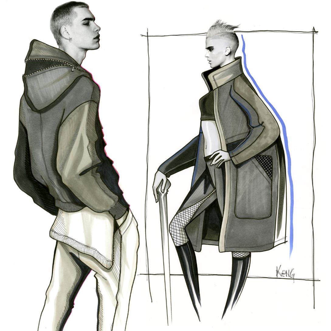 Design & Illustration by Paul Keng   Copic   @paulkengillustrator