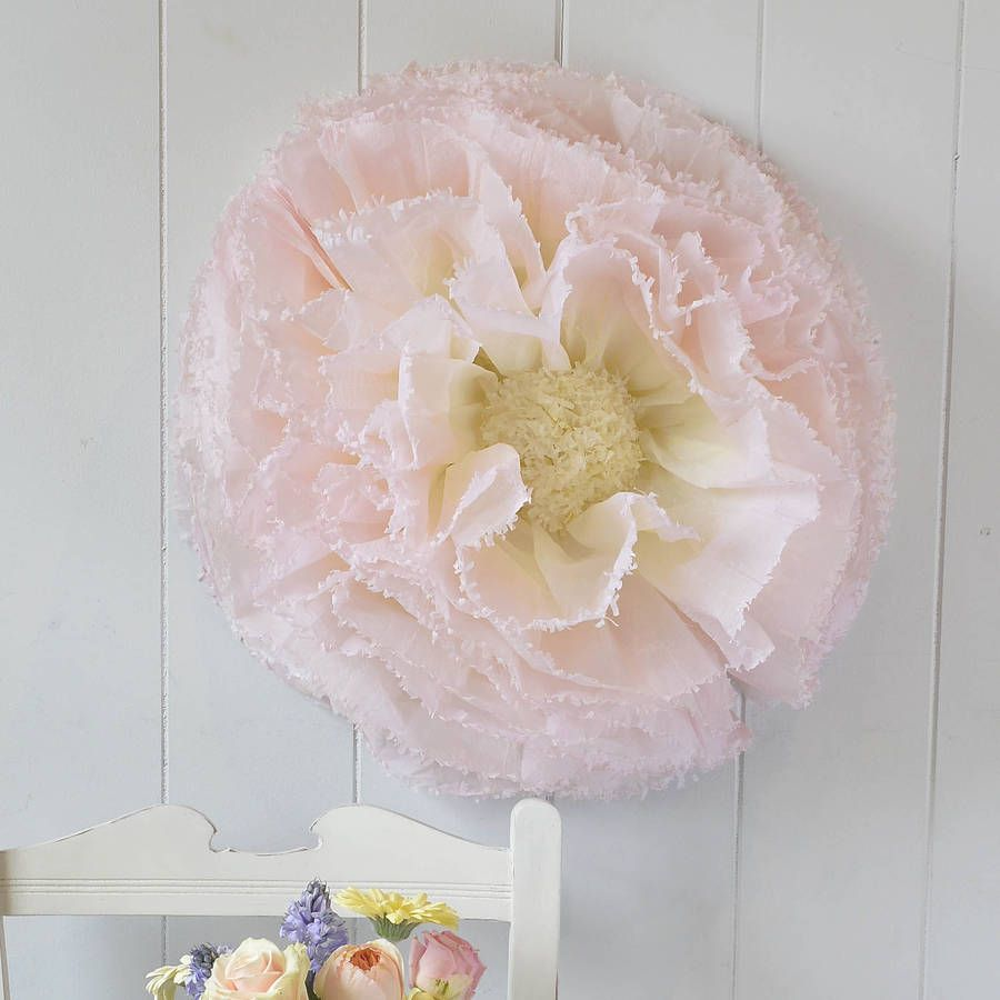 Are You Interested In Our Giant Hand Dyed Paper Flowers With Our