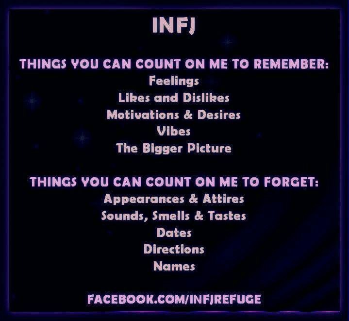 True..except I do remember dates really well (i.e. birthdays & anniversarys)