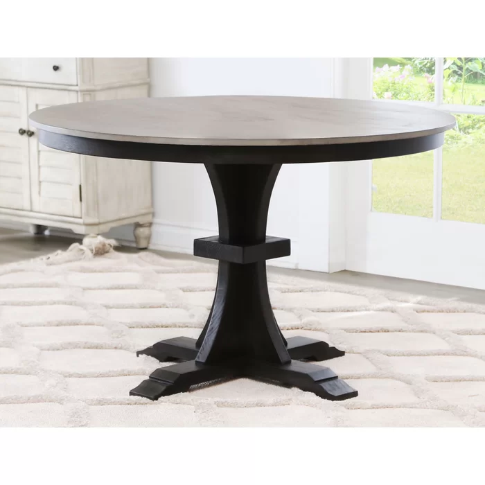 Clark Solid Wood Dining Table Solid Wood Dining Table Wood Dining Table Farmhouse Dining Table