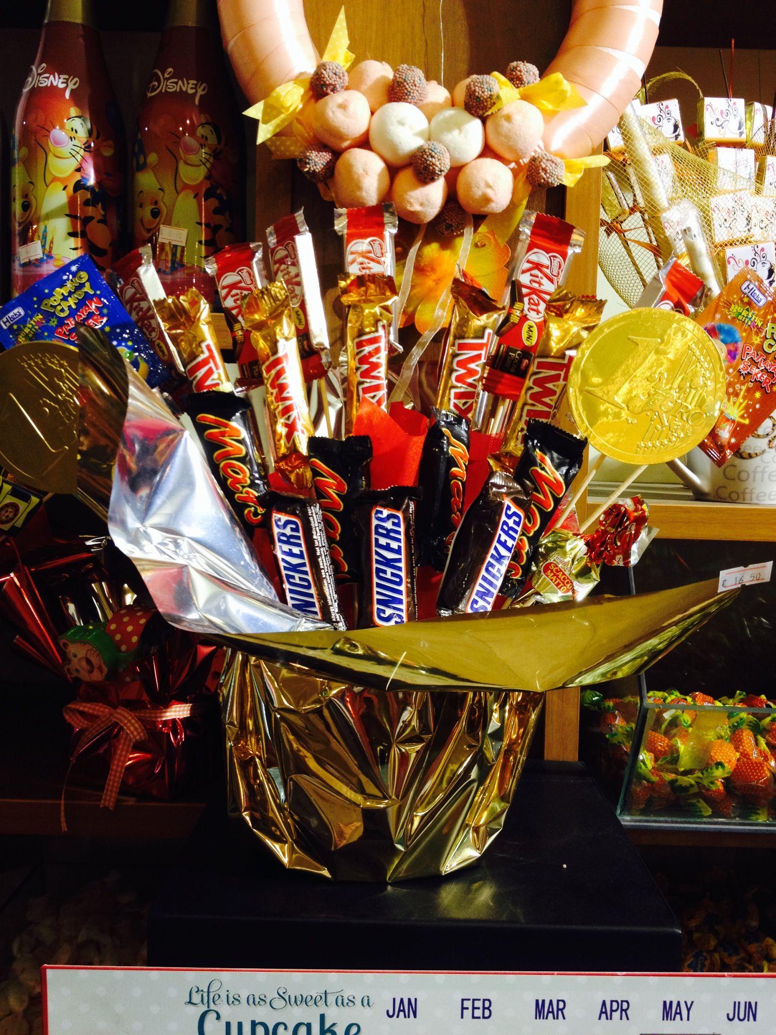 Kids Chocolate Bouquet Valentine IdeasValentinesChocolate