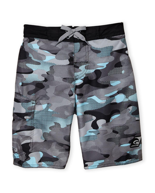 300f6e6bf0d1 Laguna (Boys 8-20) Camo Swim Trunks | *Clothing > Baby & Toddler ...