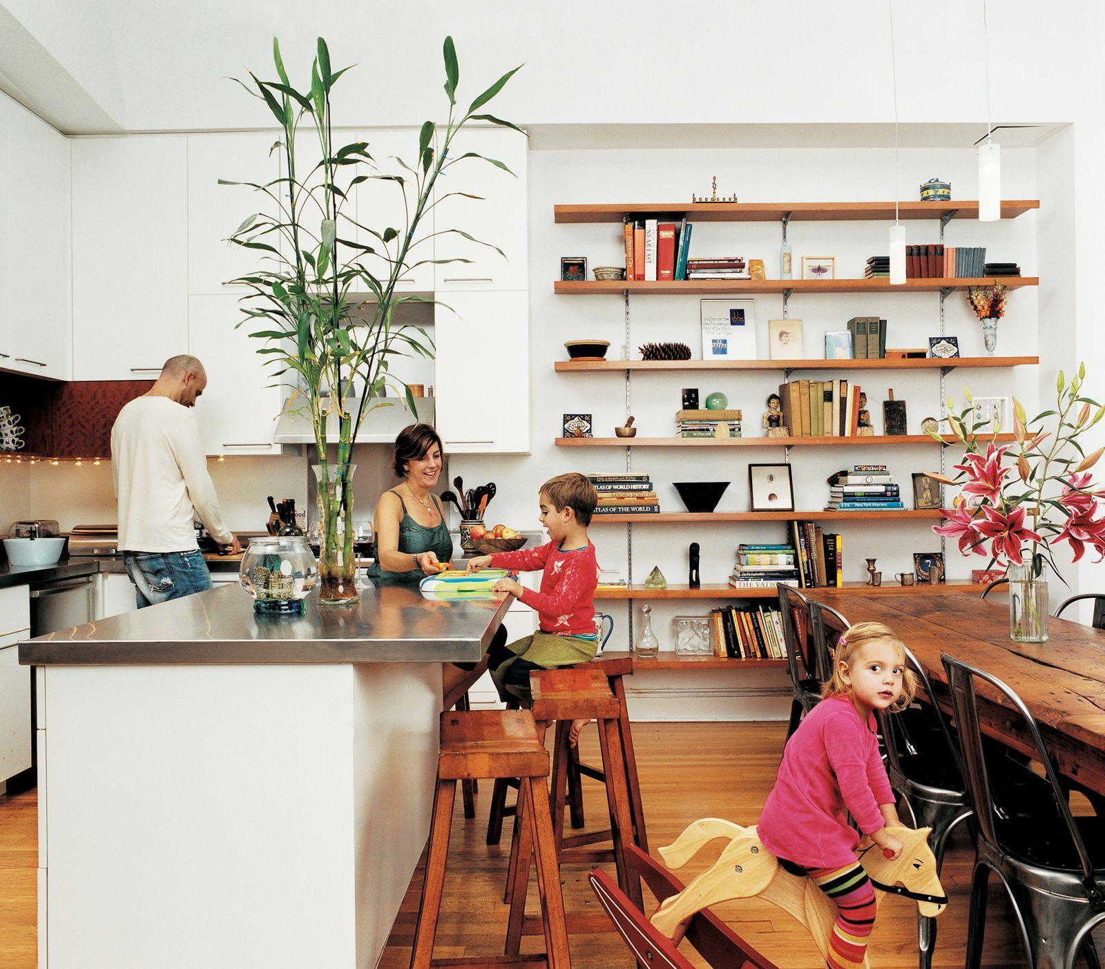 5 Modern Row House Renovations In New York Dwell Deco Mur Cuisine Maison Et Appartement Projet Maison