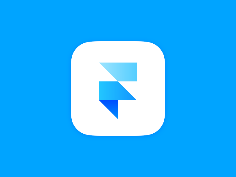 Framer for iOS Icon Logo design app, Ios icon, App logo