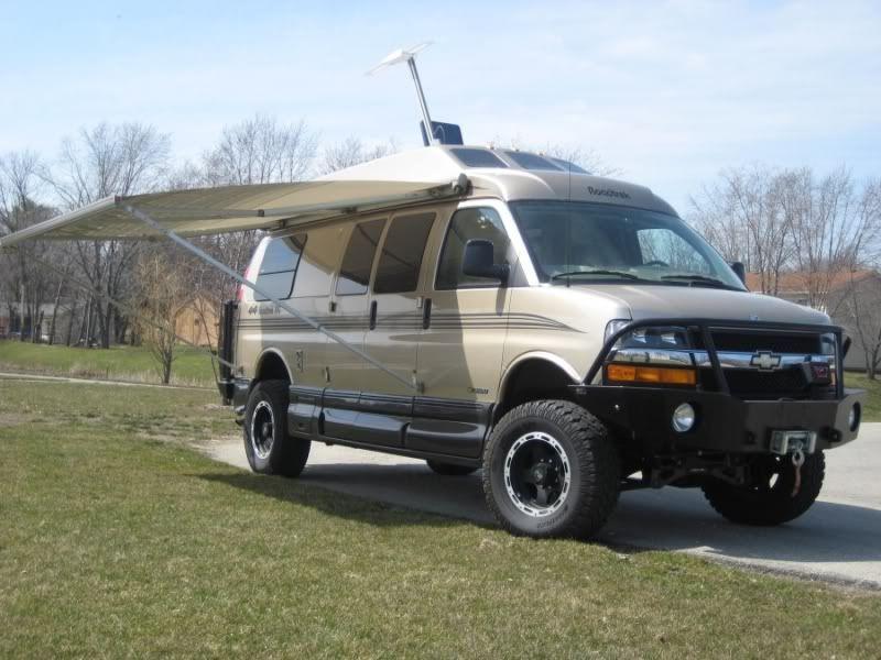 Campervan Advrider 4x4 Van Chevy Express Diy Van Camper