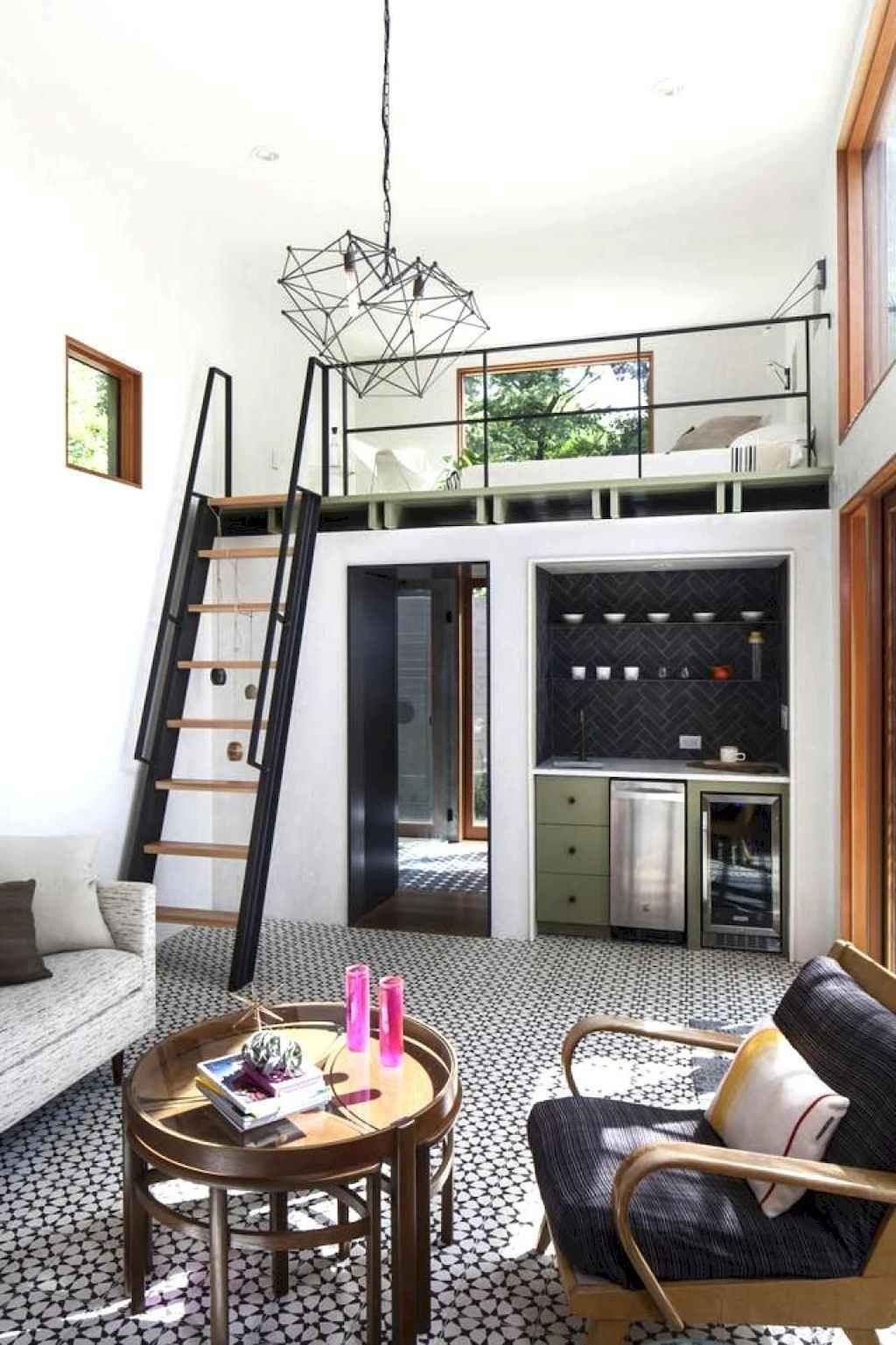 42 Clever Loft Stair For Tiny House Ideas Spaciroom Com Small House Interior Tiny House Interior Small Room Design