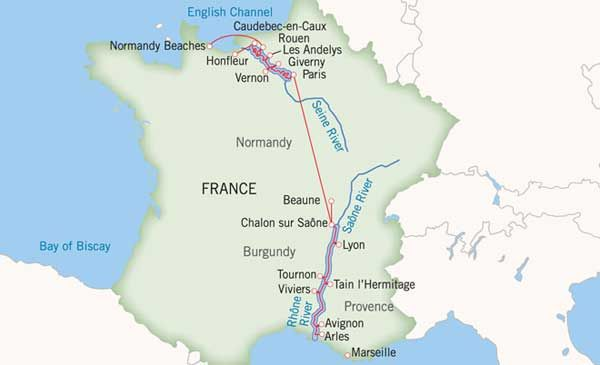 France Map Military Cruise Deals River Military Cruise Deals