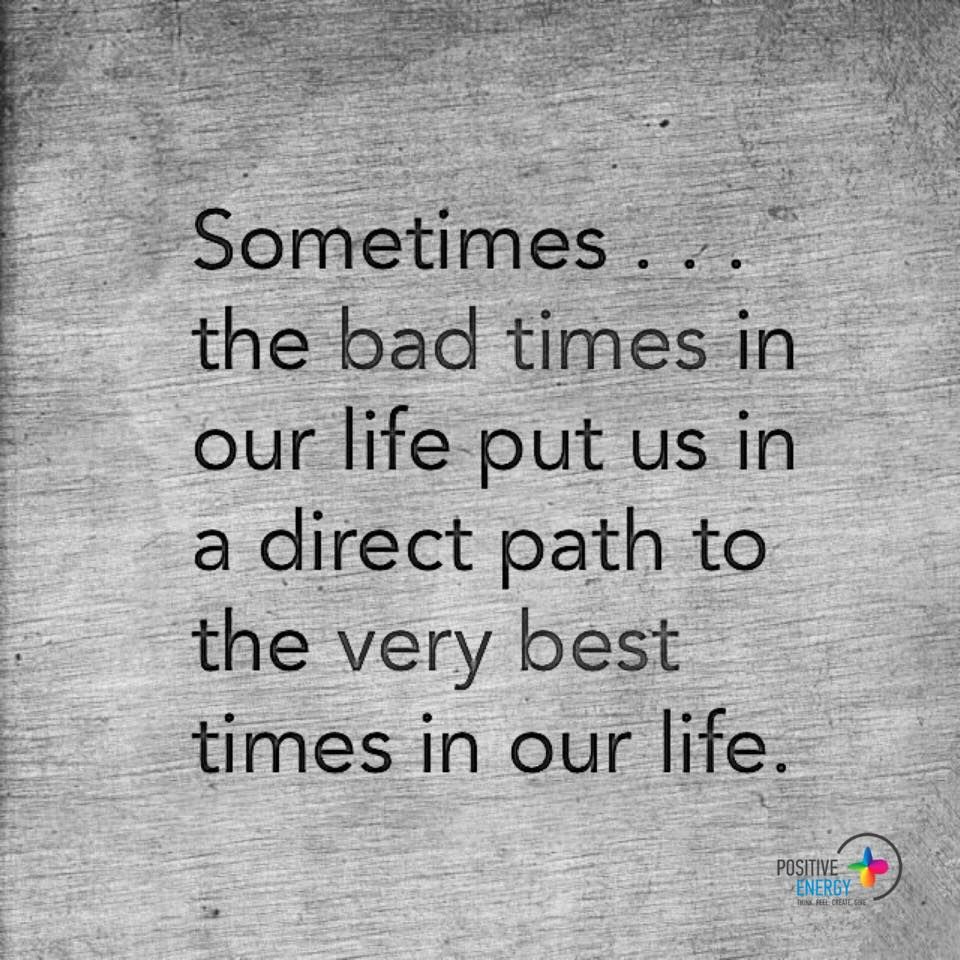 Great Positive Quotes About Life Trust Life It's Not All Bad  Life  Pinterest  Inspirational