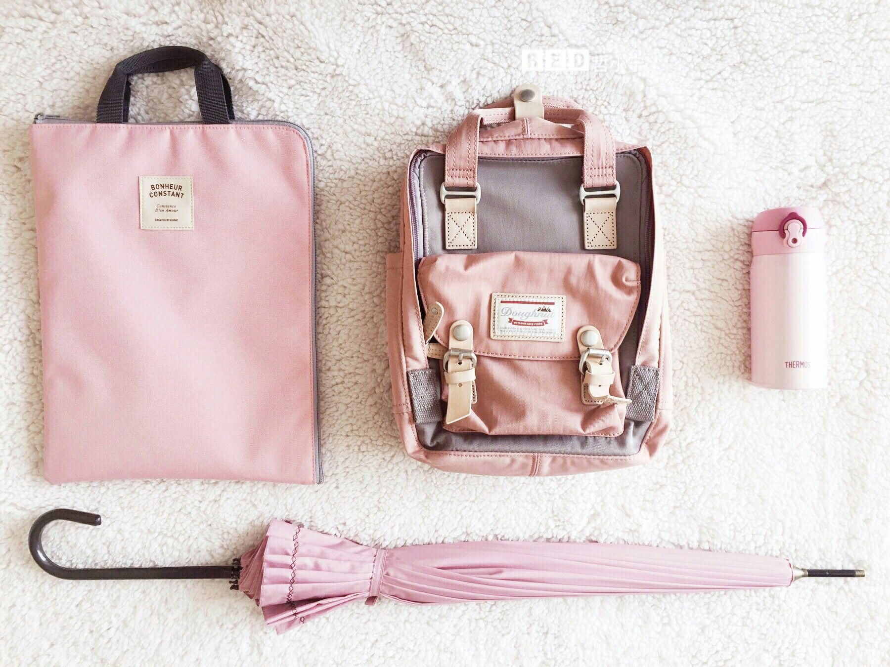 09a9e7323 A pink world Rose x Lavender Doughnut Macaroon backpack Contact:  seobishop@gmail.com get factory prices!