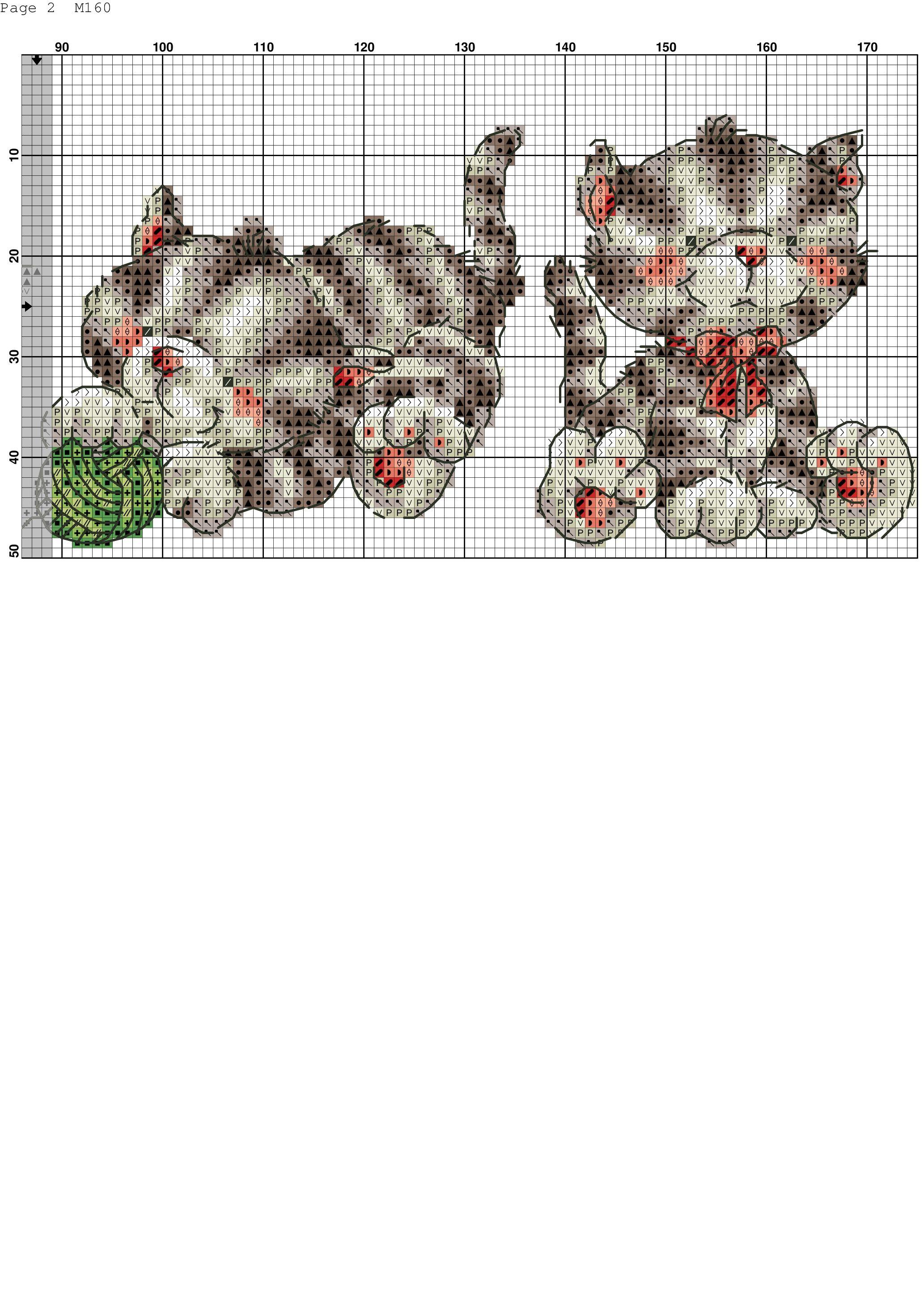 Pin de Friolo Silvia en Bimbi | Pinterest | Punto de cruz, Puntos y Gato