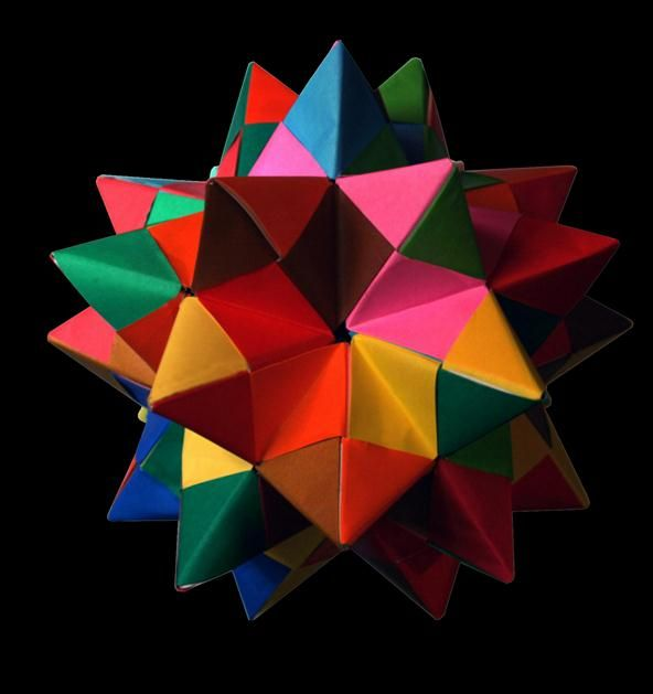 Modular Origami How To Make A Truncated Icosahedron Pentakis