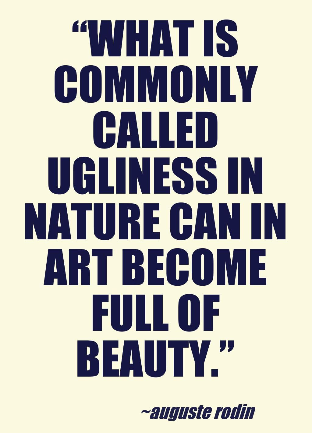 quote by artist Auguste Rodin