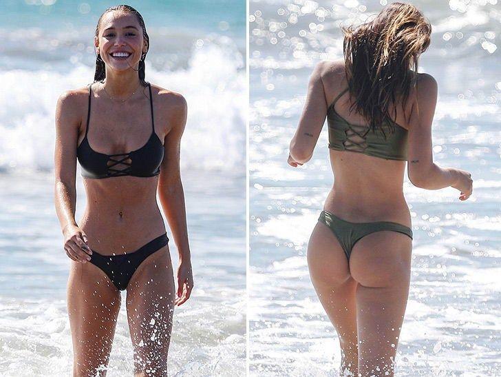 Alexis Ren Tangos with a Thong In Sexy Beach Bikini Sesh #VPCHURCHILL