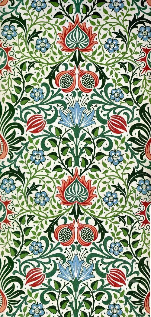 William morris william morris pinterest reliure - Motif tapisserie ...
