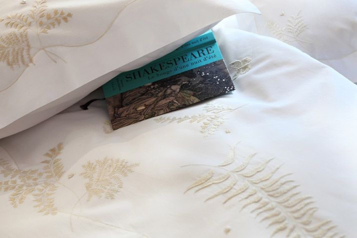 Linge au Coeur – Embroidered house linen – Bed linen