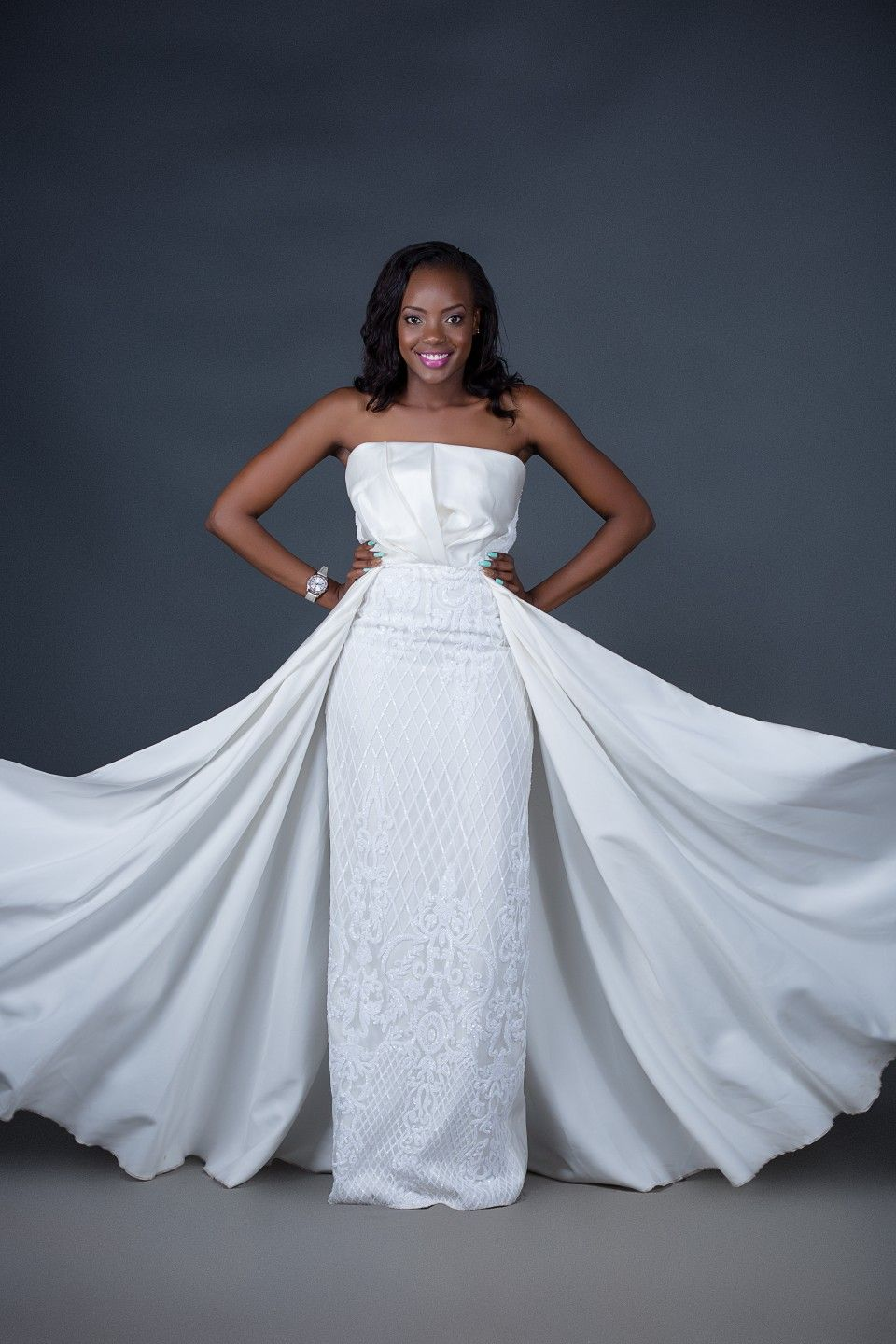 Image result for wambui mukenyi wedding gowns