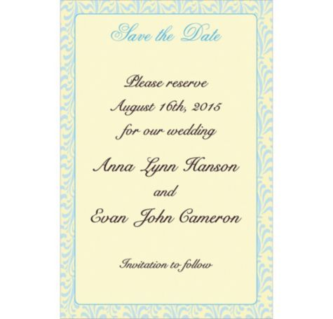 Formal Save The Date Custom Invitation Party City Formal Save The Dates Invitations Party Custom Invitations