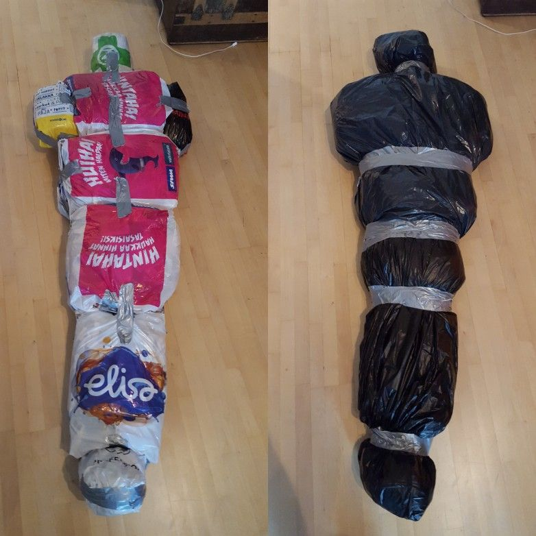 Diy Body In The Bag For Halloween (With Images