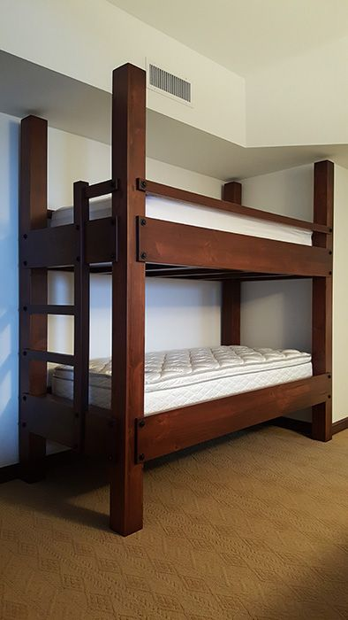 Custom Made Twin Xl Over Twin Xl Bunk Beds Bunk Beds Bunk Bed