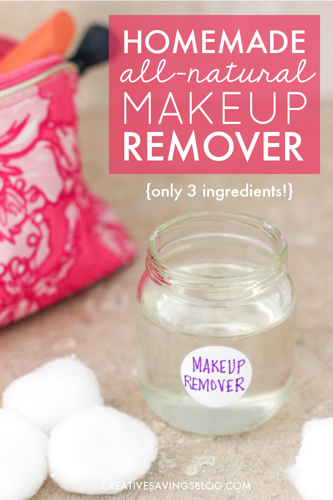 Photo of Homemade Makeup Remover that Actually Works! {3 Ingredients}
