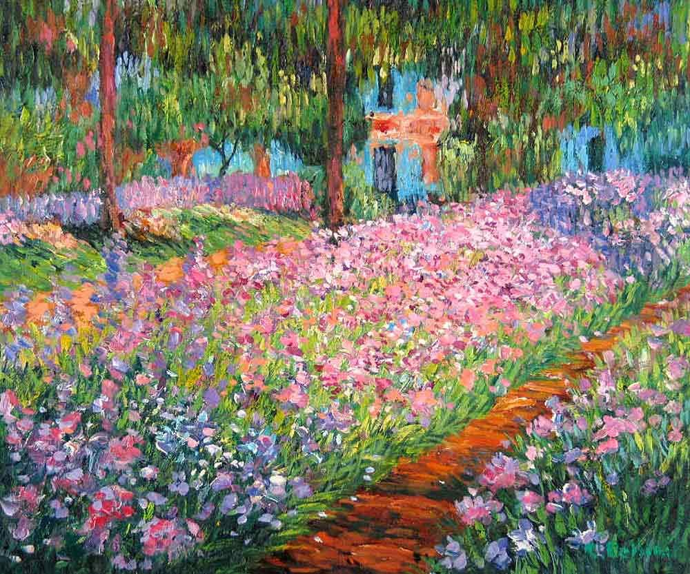 Monet 39 s garden giverny france explore the world with travel nerd nici one country at a for Monet s garden france
