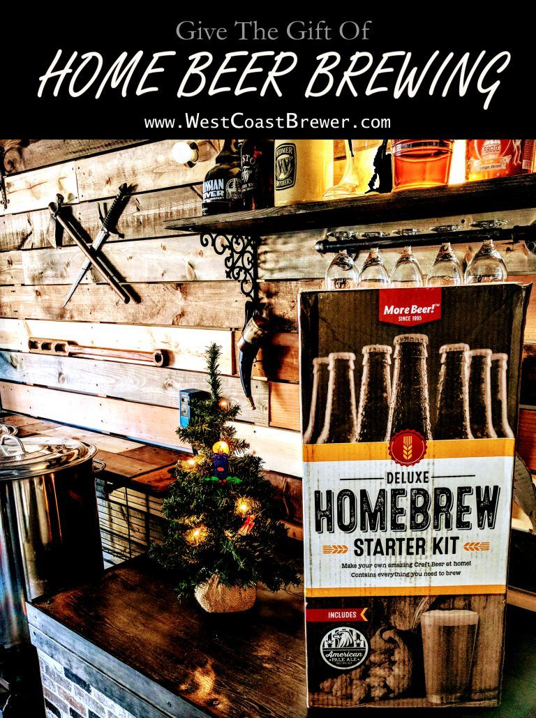 give the gift of home beer brewing homebrew homebrewing gift