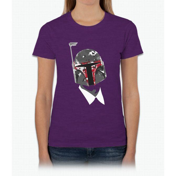 Boba F'n Fett Bill Murray Womens T-Shirt