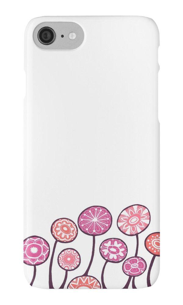 """Candy flowers"" iPhone Cases & Skins by ptitsa-tsatsa | Redbubble"