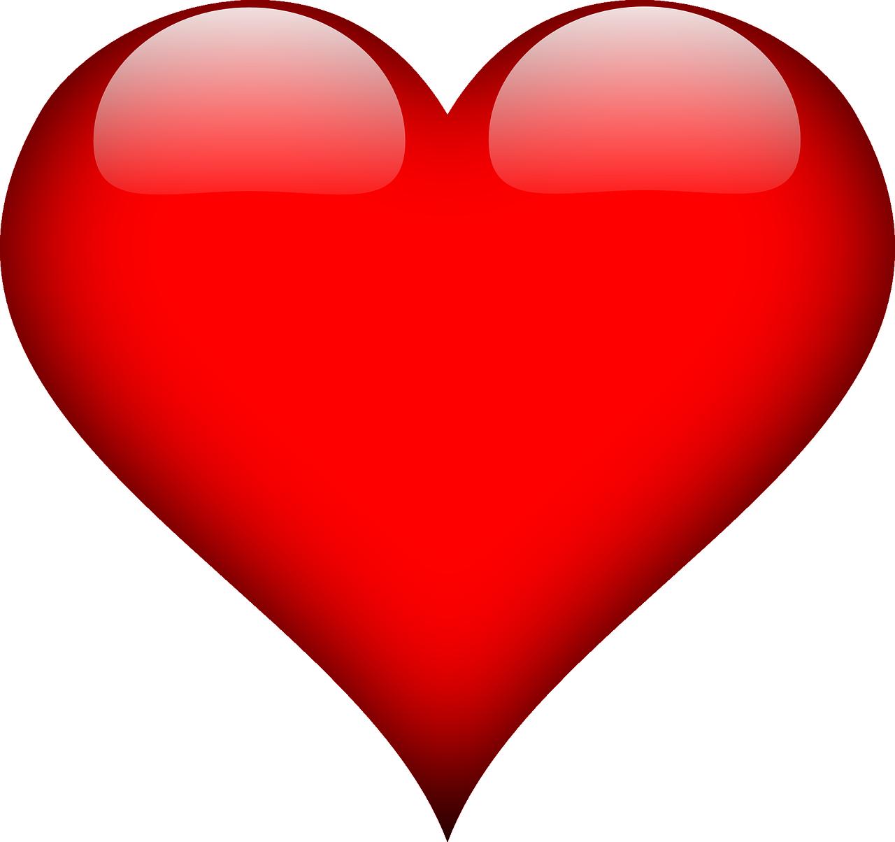 Free Image on Pixabay Heart, Love, Red, Valentine