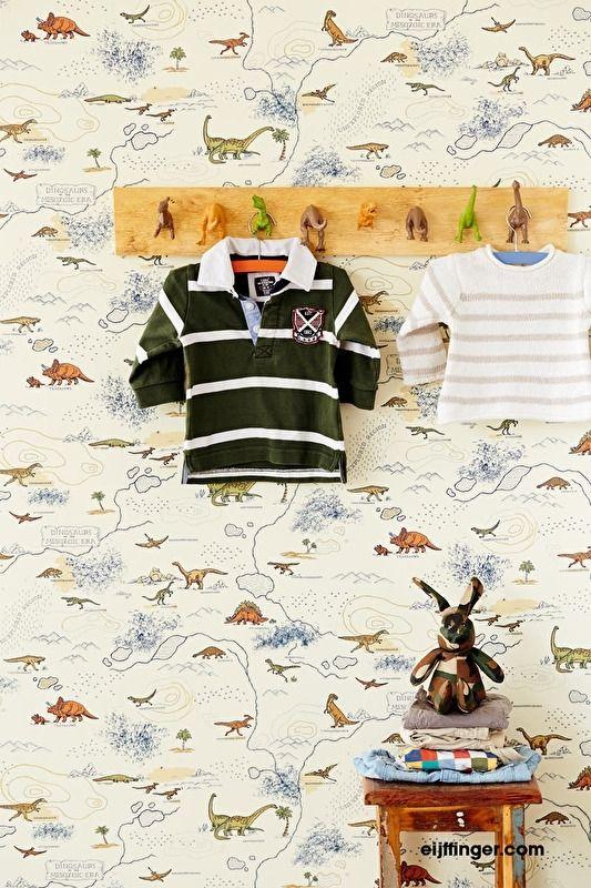 kinderbehang Eijffinger Hits 4 Kids 351709 dino | Eijffinger Hits 4 Kids | Behang koop je online bij Behangexpert !