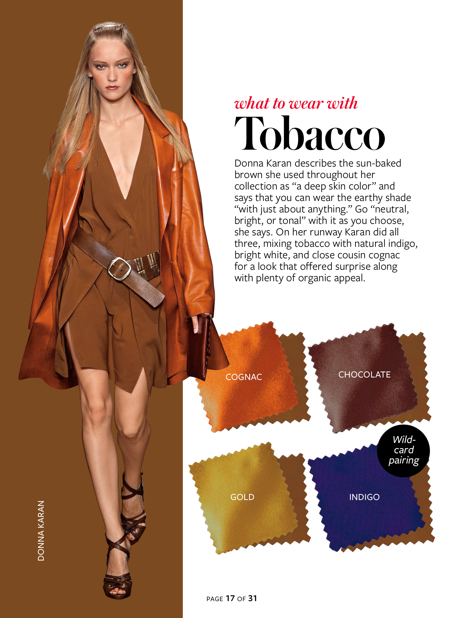 InStyle Color Crash Course-Tobacco