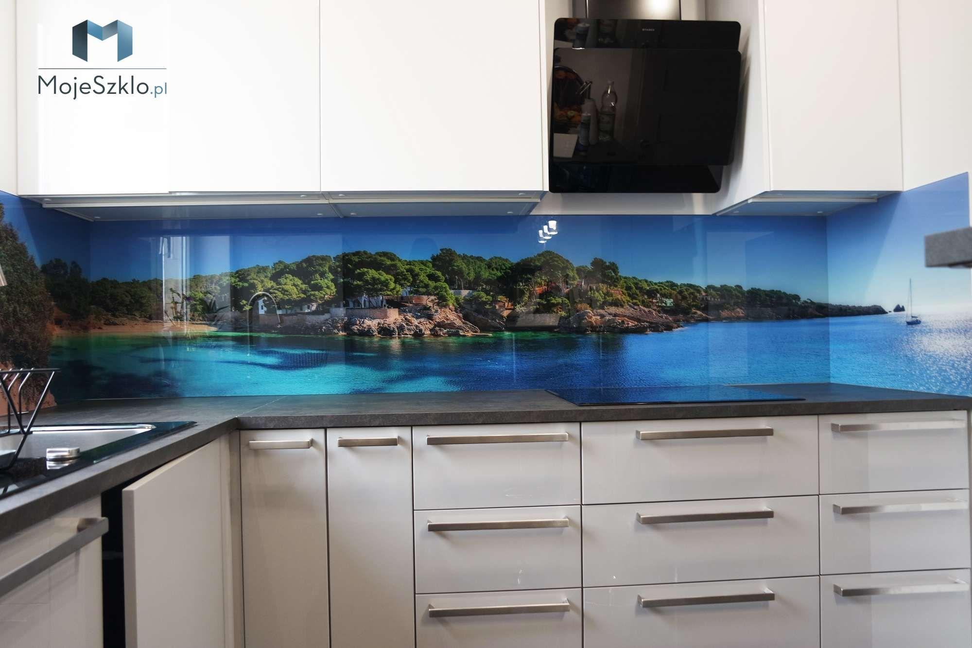 Grafika Na Szkle Krajobraz Morski Kitchen Design Home Decor