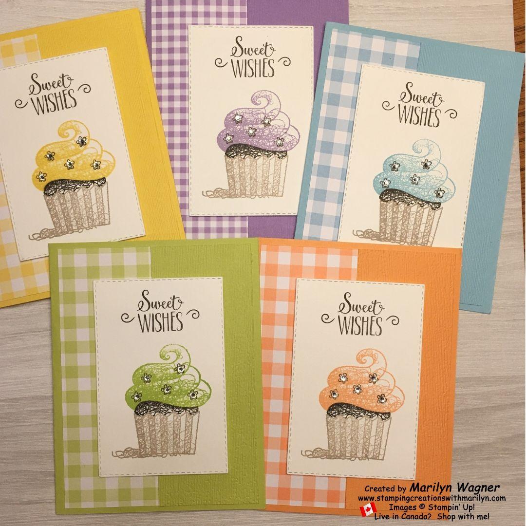Hello Cupcake Hello Cupcake is a cute birthday stamp set
