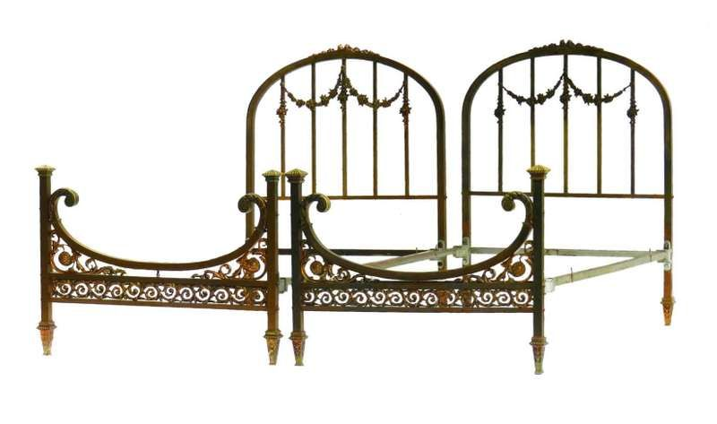 For Sale On 1stdibs Rare Pair Of French Twin Beds Belle Epoque
